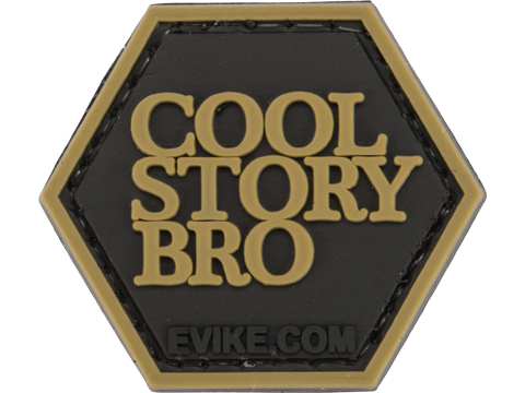 Operator Profile PVC Hex Patch Pop Culture Series (Style: Cool Story Bro)