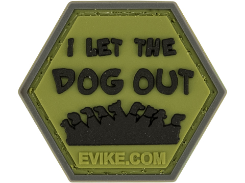 Operator Profile PVC Hex Patch Pop Culture Series 2 (Style: Dogs Out)