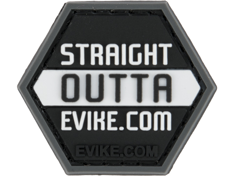 Operator Profile PVC Hex Patch Evike Series 2 (Style: Straight Outta Evike.com)