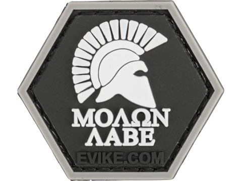 Operator Profile PVC Hex Patch Freedom! Series 1 (Style: Molon Labe Helmet)