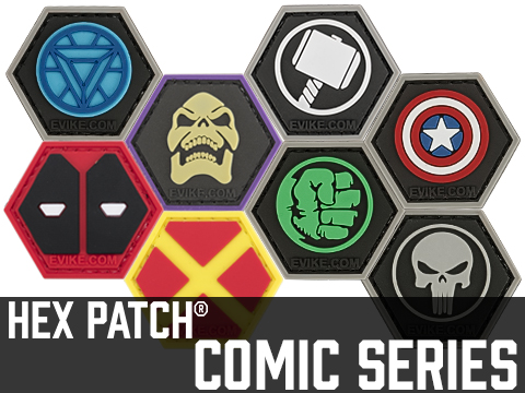 Operator Profile PVC Hex Patch Comic Series