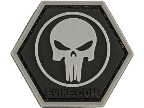 Operator Profile PVC Hex Patch Comic Series (Style: Spooky Skull)