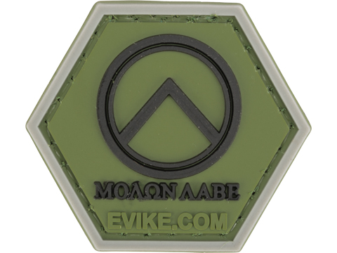 Operator Profile PVC Hex Patch Freedom! Series 1 (Style: Molon Labe Shield)