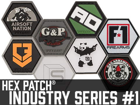 Operator Profile PVC Hex Patch Industry Series 1