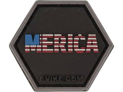 Operator Profile PVC Hex Patch Freedom! Series (Style: 'Merica)