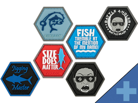 Operator Profile PVC Hex Patch Fishing Series (Style: Battle Angler)