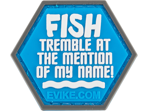 Operator Profile PVC Hex Patch Fishing Series (Style: Fish Tremble)