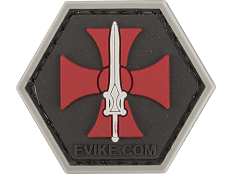 Operator Profile PVC Hex Patch Comic Series (Style: He-Man)