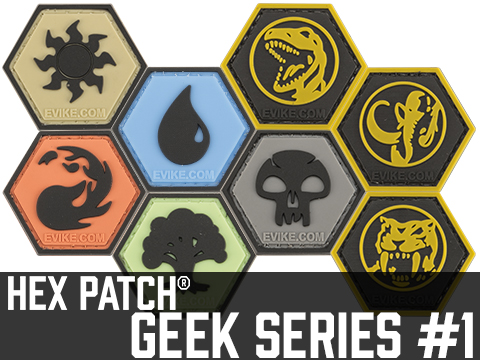 Operator Profile PVC Hex Patch Geek Series 1