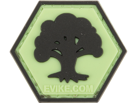 Operator Profile PVC Hex Patch Geek Series 1 (Style: MTG Forest)