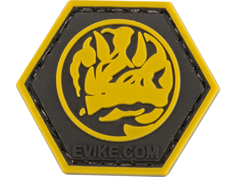 Operator Profile PVC Hex Patch Geek Series (Style: Blue Ranger)