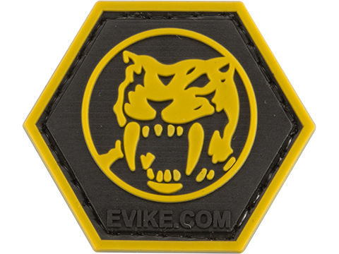 Operator Profile PVC Hex Patch Geek Series (Style: Yellow Ranger)