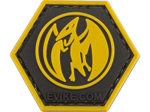 Operator Profile PVC Hex Patch Geek Series (Style: Pink Ranger)