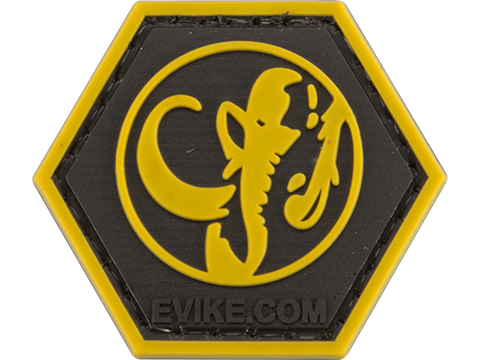 Operator Profile PVC Hex Patch Geek Series (Style: Black Ranger)