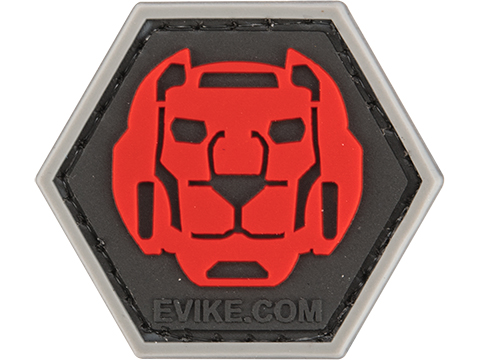 Operator Profile PVC Hex Patch Anime Series (Style: Voltron Red)