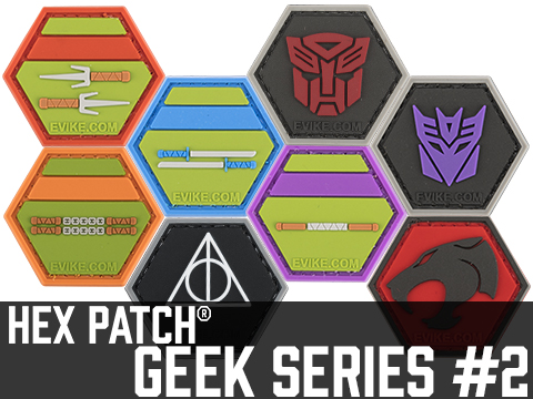 Operator Profile PVC Hex Patch Geek Series 2