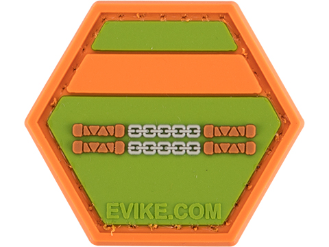 Operator Profile PVC Hex Patch Geek Series (Style: Michaelangelo)