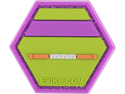 Operator Profile PVC Hex Patch Geek Series (Style: Donatello)