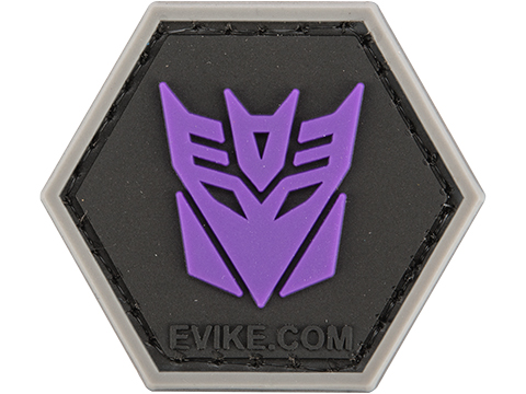 Operator Profile PVC Hex Patch Geek Series (Style: Decepticons)