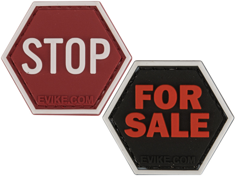 Operator Profile PVC Hex Patch Signs Series (Type: STOP)