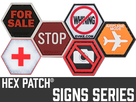 Operator Profile PVC Hex Patch Signs Series