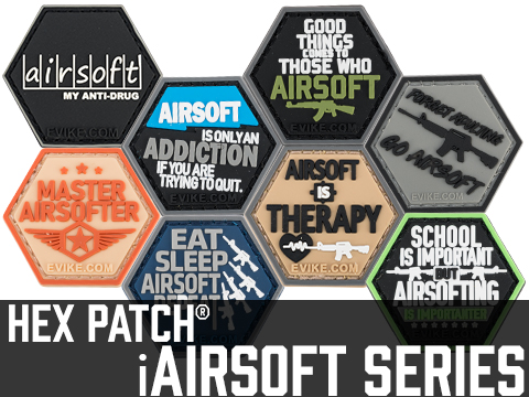 Operator Profile PVC Hex Patch iAirsoft Series 1