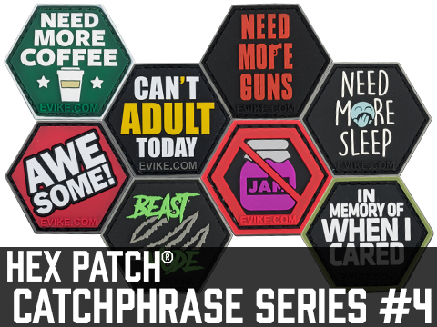 Operator Profile PVC Hex Patch Catchphrase Series 4 (Style: In Range)