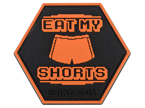 Operator Profile PVC Hex Patch Pop Culture Series 4 (Style: Eat My Shorts)