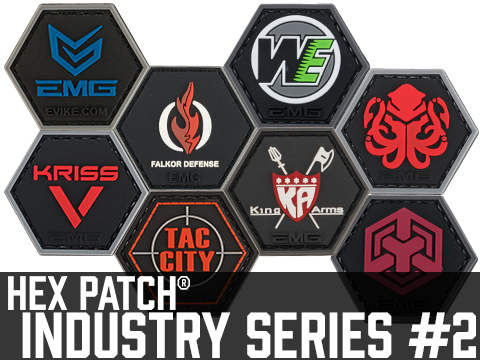 Operator Profile PVC Hex Patch Industry Series 2
