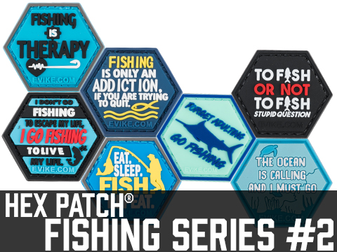 Operator Profile PVC Hex Patch Fishing Series 2