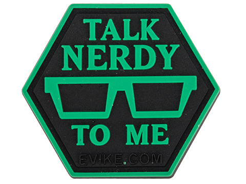 Operator Profile PVC Hex Patch Geek Series 3 (Style: Talk Nerdy)