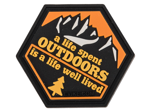 Operator Profile PVC Hex Patch Catchphrase Series 3 (Style: Outdoors)