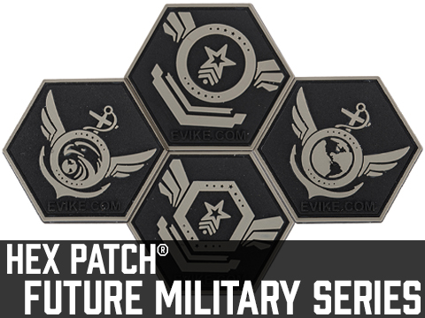 Operator Profile PVC Hex Patch Future Military Series