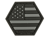 Operator Profile PVC Hex Patch American Flag Series (Color: SWAT)