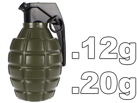 Airsoft Grenade Shape Loader Bottle with BBs