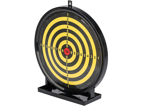 Swiss Arms Airsoft 12 Large Sticky Gel Padded Shooting Target w/ BB Collection Tray