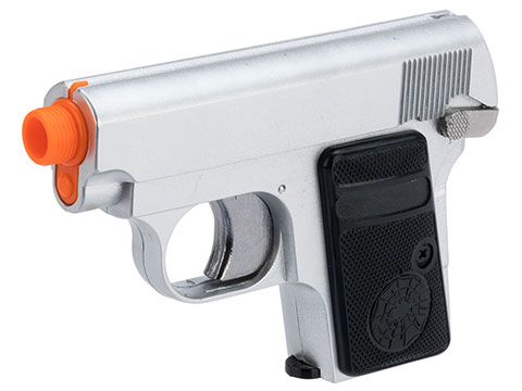 HFC Combat Commander Non-Blowback Airsoft Pocket Gas Pistol (Color: Silver)