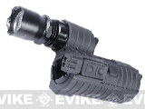 Element M4 e500 Tactical Handguard Illuminator w/ Integrated Dual LED for Airsoft - Black