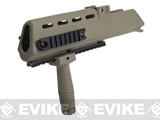 RIS Handguard Set for H&K G36 Series Airsoft AEG Rifles (Color: Dark Earth)