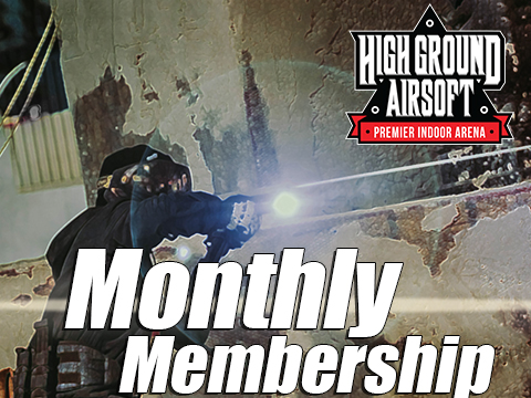 High Ground Airsoft Field Monthly Membership Admission Pass