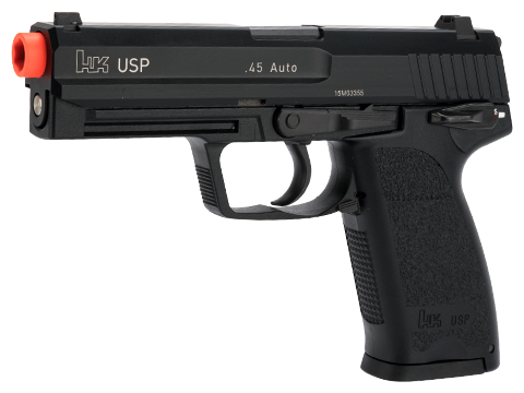 Heckler & Koch / Umarex Full Metal USP Full Size NS2 Airsoft Gas Blowback Gun by KWA
