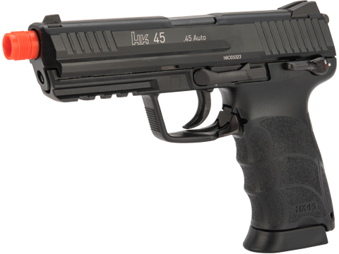 Heckler & Koch Full Metal HK45 Airsoft GBB Pistol by KWA (Package: Gun Only)