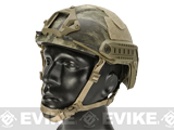 6mmProShop Advanced High Cut Ballistic Type Tactical Airsoft Bump Helmet (Color: A-TACS AU / Medium - Large)