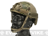 6mmProShop FAST Type Tactical Airsoft Helmet (MICH Ballistic Type / Advanced / Multicam)