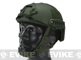 6mmProShop Bump Type Tactical Airsoft Helmet (Type: MICH Ballistic / Advanced / OD Green / Medium-Large)