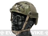 6mmProShop Bump Type Tactical Airsoft Helmet (Type: BJ / Advanced / Multicam / Medium - Large)