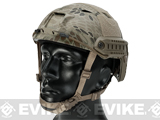 6mmProShop FAST Type Tactical Airsoft Helmet (BJ Type / Advanced / Kryptek Highlander)