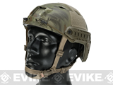 Emerson Bump Type Tactical Airsoft Helmet (Type: BJ / Advanced / Kryptek Mandrake / Medium - Large)