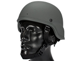 Matrix MICH 2000 Fiberglass Airsoft Helmet (Color: Grey)