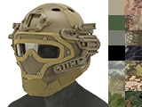 Matrix Legionnaire Full Head Coverage Helmet / Mask / Goggle Protective System